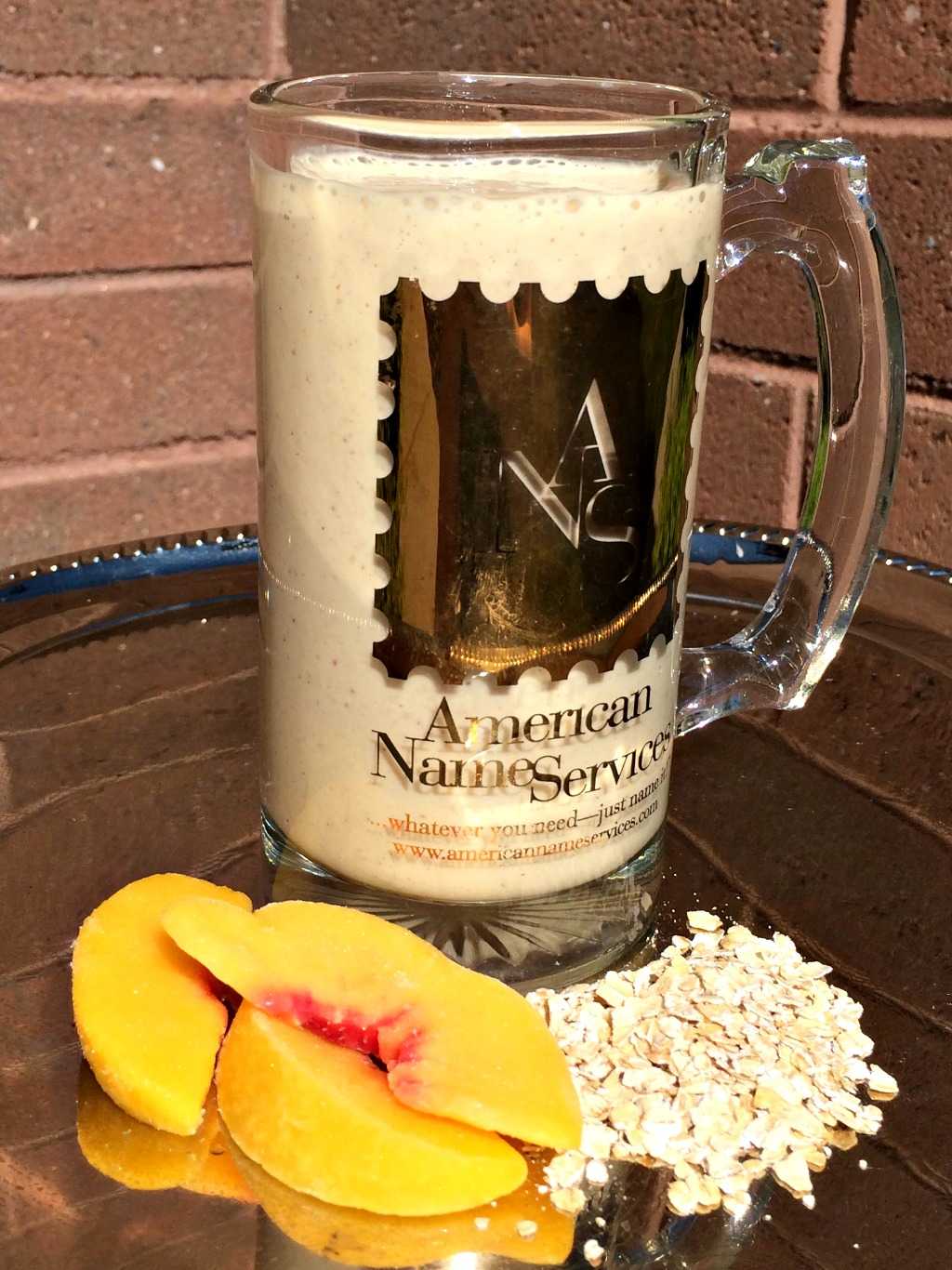 Peach Cobbler Smoothie American Name Services