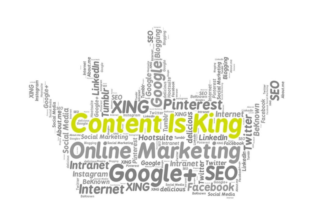 content marketing, king data driven adwords, ans
