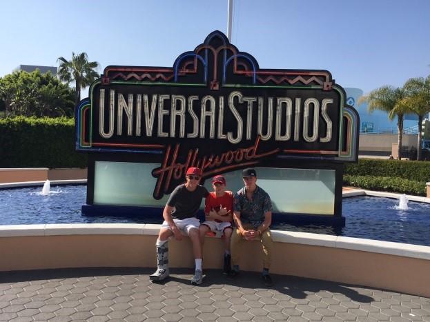 ans trip 2016, Universal Studios, jen in california