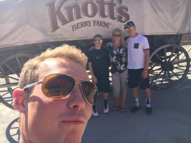 ans trip 2016, Knott's berry farm, jen in california